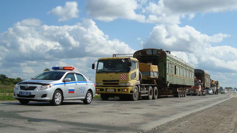 Перевозка негабаритных грузов в Тюмени
