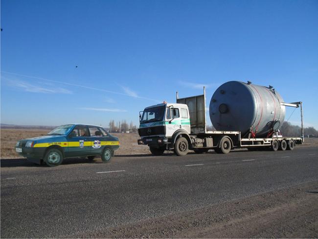 Сопровождение негабаритных грузов Тюмень